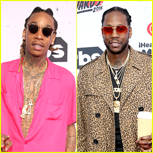 Wiz Khalifa & 2 Chainz Present at iHeartRadio Music Awards 2016