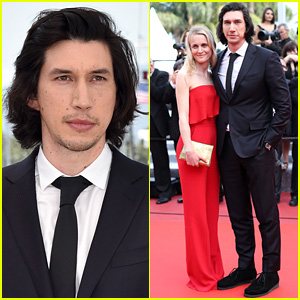 Adam Driver Brings Wife Joanne Tucker to Cannes 2016 'Paterson' Premiere
