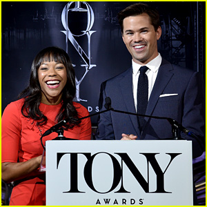 Andrew Rannells & Nikki M. James Announce Tony Nominations 2016!