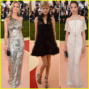 Anna Ewers, Fei Fei Sun & Louise Parker Arrive at Met Gala 2016