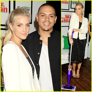 Ashlee Simpson & Evan Ross Go for 'Clean Sweep'