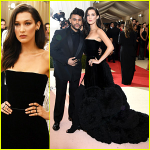 Bella Hadid & The Weeknd Are Picture Perfect at Met Gala 2016