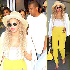 Beyonce Enjoys Night Off From 'Formation World Tour' with Jay Z In NYC!