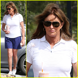 Caitlyn Jenner Keeps it Casual on Smoothie Run