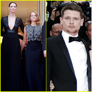 Caitriona Balfe & Jodie Foster Premiere 'Money Monster' at Cannes 2016