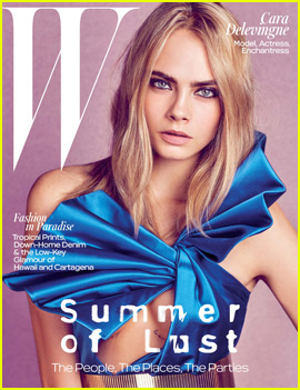 Cara Delevingne Ran Naked Through a Forest While Auditioning for 'Suicide Squad'
