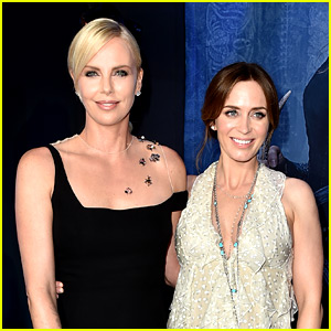 Charlize Theron Hosts Baby Shower for Pal Emily Blunt!