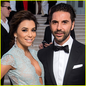eva longoria�s husband jos233 bast243n joins her in cannes to