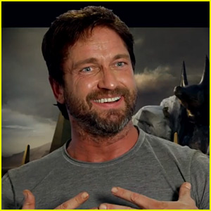 Gerard Butler Discusses 'Gods of Egypt' Costume for Blu-ray Featurette (Exclusive Video)