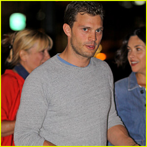 Jamie Dornan Grabs Sushi in Vancouver with His Wife Amelia
