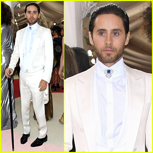 Jared Leto Is So Dapper in Gucci at Met Gala 2016