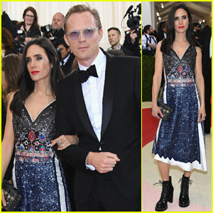 Jennifer Connelly & Paul Bettany Hit Met Gala 2016 Together