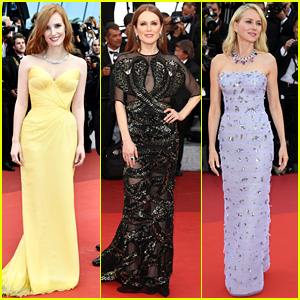 Jessica Chastain & Julianne Moore Are So Chic at Cannes 2016 Opening Gala