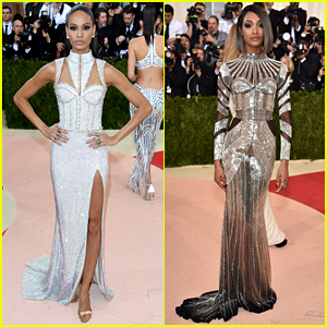 Joan Smalls & Jourdan Dunn Are Balmain Babes at Met Gala 2016