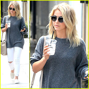 Julianne Hough Hasn't Chosen A Wedding Dress Yet!