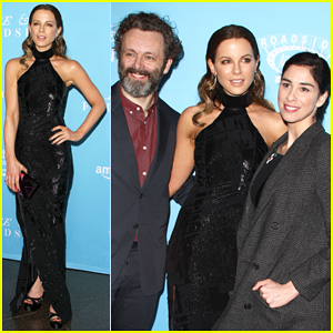Kate Beckinsale Gets Support Form Ex Michael Sheen & Sarah Silverman At 'Love & Friendship' Premiere!