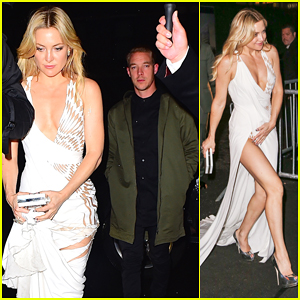 Kate Hudson Hits Up Met Gala 2016 After Party with Diplo!