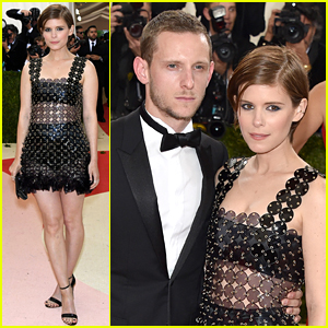 Kate Mara & Jamie Bell Are a Hot Couple at Met Gala 2016!