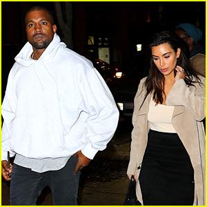 Kim Kardashian & Kanye West Have a Date Night Before Met Gala