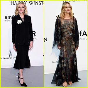 Kirsten Dunst & Vanessa Paradis Rep Cannes Jurors at amfAR Gala 2016