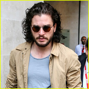 Kit Harington Gets A Phone Call From 'Game of Thrones' Co-Star During Radio Interview