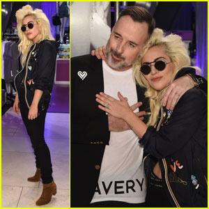 Lady Gaga Launches 'Love Bravery' at Macy's in Herald Square