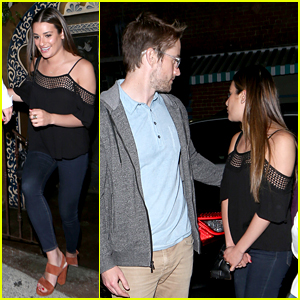 Lea Michele Has Date Night With New Flame Robert Buckley