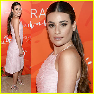 Lea Michele Hits Step Up Inspiration Awards 2016