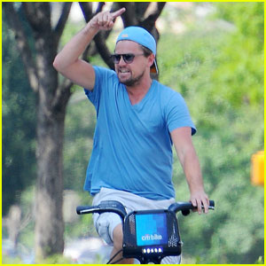 Leonardo DiCaprio Bikes Around the Big Apple Amid More Rihanna Romance Rumors