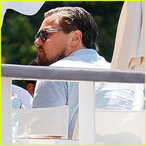 Leonardo DiCaprio Starts Week with a Casual Cannes Lunch