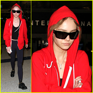 Lily-Rose Depp Steps Out After News of Johnny Dep & Amber Heard's Divorce