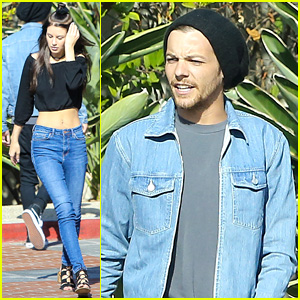 Louis Tomlinson Meets Up with Briana Jungwirth Over the Weekend