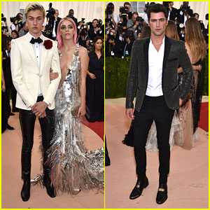 Lucky Blue Smith & Sean O'Pry Hit Met Gala 2016