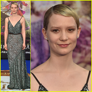 Mia Wasikowska Premieres 'Alice Through the Looking Glass' in London