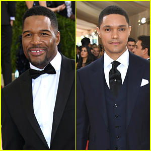 Michael Strahan & Trevor Noah Look Sharp at Met Gala 2016