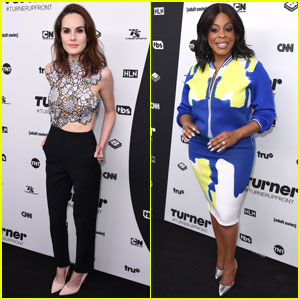 Michelle Dockery & Niecy Nash Attend Turner Upfronts 2016