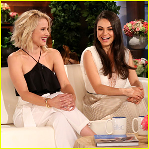 Mila Kunis Gets Grilled on Sex with Ashton Kutcher & She Can't Stop Giggling - Watch Now!