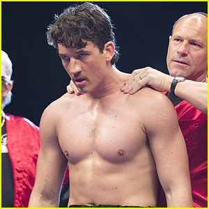 Miles Teller Goes Shirtless for New Movie 'Bleed For This'