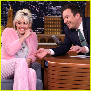 Miley Cyrus Makes Funny Faces with Jimmy Fallon - Watch Now!