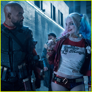 Margot Robbie & Will Smith Team Up in New 'Suicide Squad' Photo
