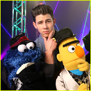 Nick Jonas Sings About Shapes on 'Sesame Street' - Watch!