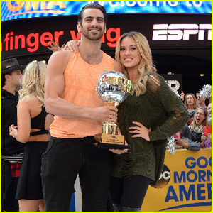 'DWTS' Champ Nyle DiMarco Stops By 'Good Morning America'