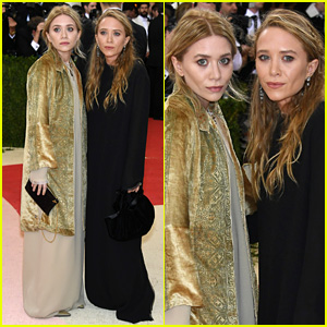 Mary-Kate & Ashley Olsen Attend Met Gala 2016 Together