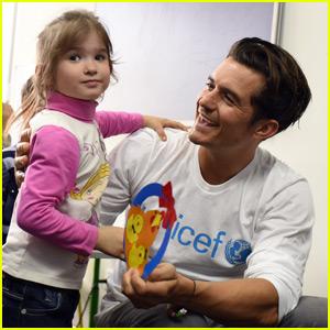 Orlando Bloom Takes UNICEF Trip to Ukraine
