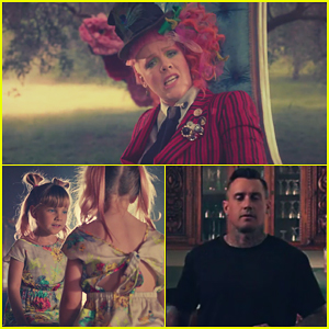 Pink's Hubby Carey Hart & Daughter Willow Star In 'Just Like Fire' Music Video!