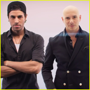 Pitbull & Enrique Iglesias Premiere 'Messin' Around' Music Video!