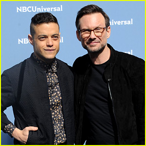 Rami Malek Debuts 'Mr. Robot' Season 2 Trailer at Upfronts!