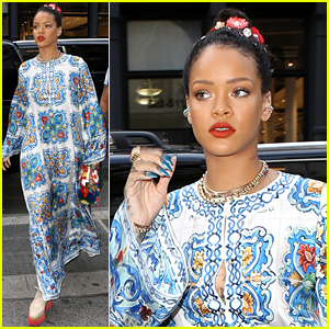 Rihanna Gets Some Shopping Done on Memorial Day Weekend