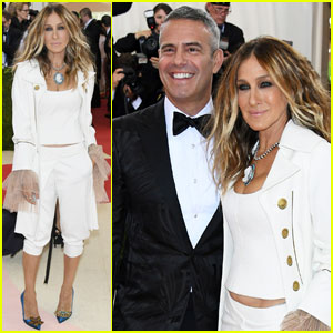 Sarah Jessica Parker Poses With Andy Cohen at Met Gala 2016