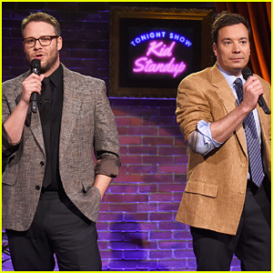 Seth Rogen & Jimmy Fallon Perform Kid Stand-Up - Watch Now!